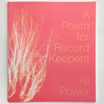 A Poem for Record Keepers